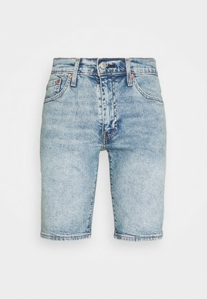 511™ SLIM HEMMED SHORT - Jeansshorts - med indigo - worn in