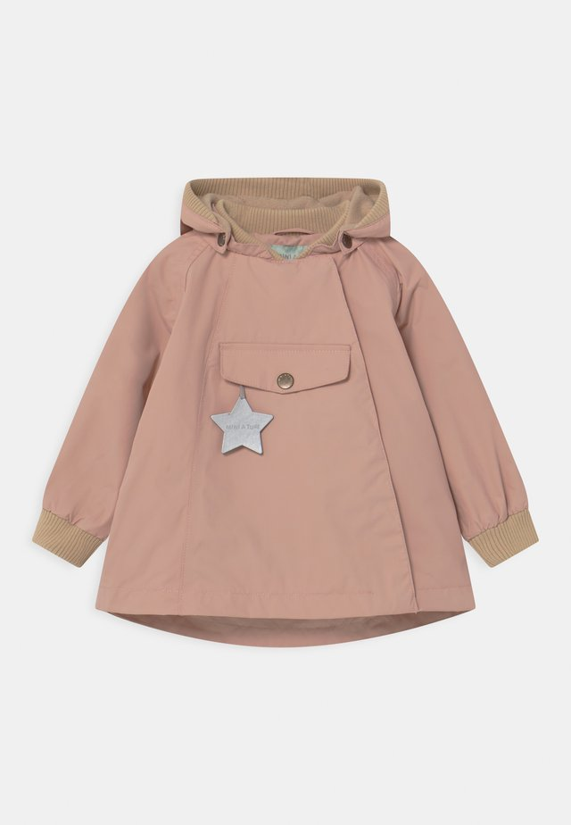 WAI UNISEX - Manteau court - cloudy rose