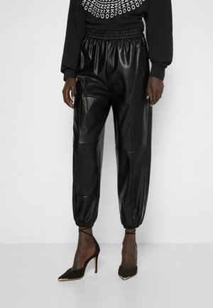 GATE 1 PANTALONE - Spodnie materiałowe - black