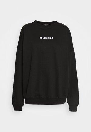 PETITE BRANDED - Sweatshirt - black
