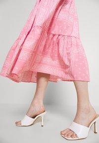 Never Fully Dressed - BANDANA DRESS - Maxi dress - pink - 5