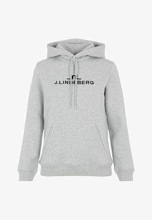 ALPHA  - Hoodie - stone grey melange
