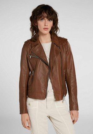Leren jas - light brown