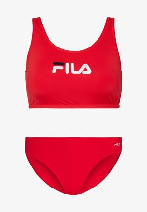 SET - Bikini - true red