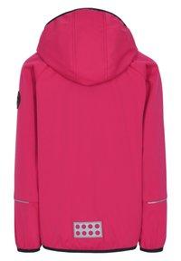 LEGO Wear - SKY UNISEX - Soft shell jacket - pink - 1