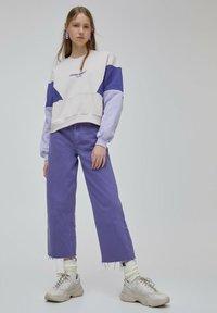 PULL&BEAR - Sweater - purple - 1