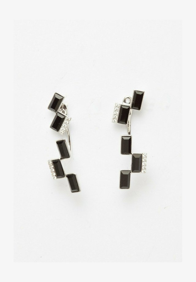AVANT-GARDE PARIS CRYSTALLIZED WITH SWAROVSKI GEOMETRIC STUDS - Earrings - black