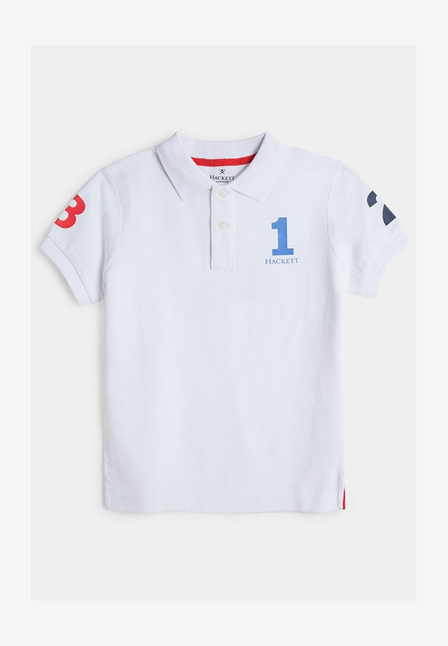 NUMBER - Polo - white