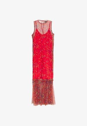 THE DRESS - Maxi dress - confetti red