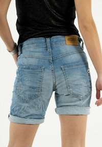 PLEASE - Denim shorts - bleu - 3
