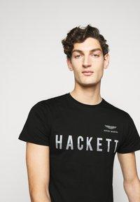 Hackett Aston Martin Racing - TEE - Print T-shirt - black - 3