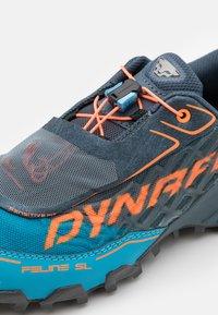 Dynafit - FELINE SL - Trail running shoes - bluejay/shocking orange - 5