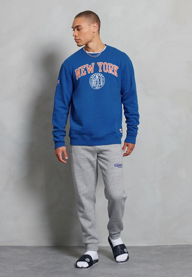 CITY COLLEGE - Sweatshirts - mazarine blue