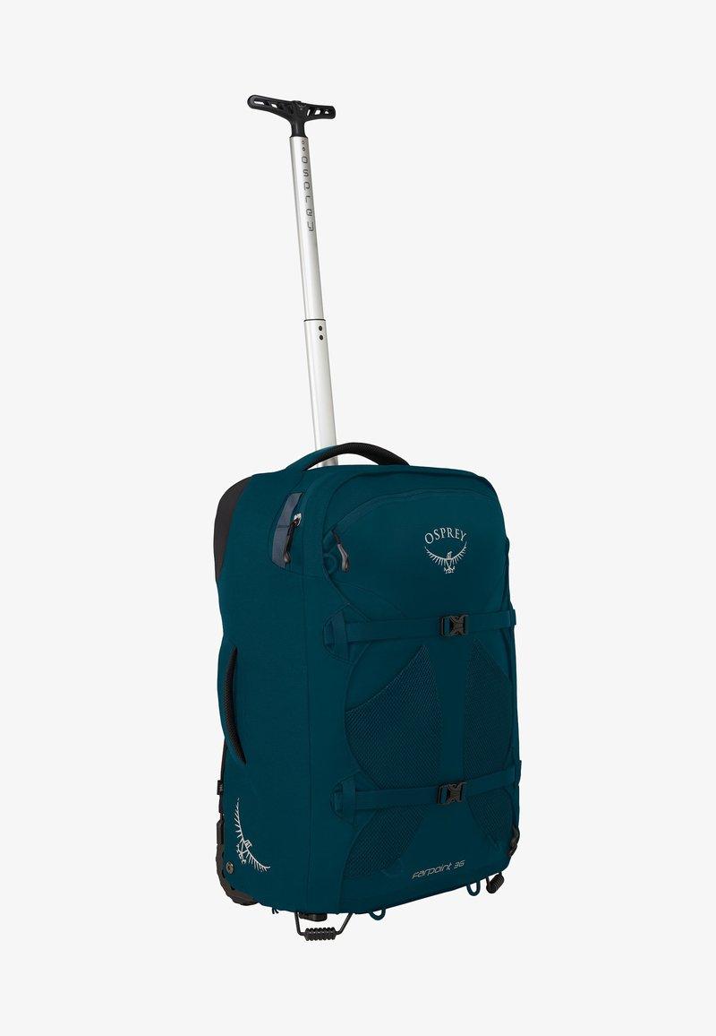 Osprey - FARPOINT WHEELS  - Trolleyväska - petrol blue