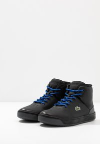 Lacoste - EXPLORATEUR THERMO - High-top trainers - black - 3