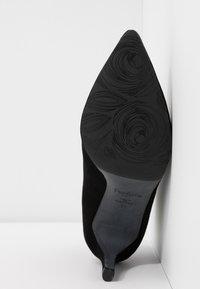 PERLATO - Højhælede støvletter - noir - 6