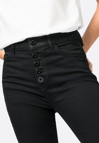 HALLHUBER - ELLA  - Jeans Skinny Fit - black denim - 2