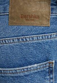 Bershka - Straight leg jeans - dark blue - 5