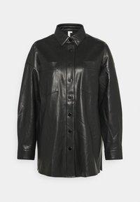 SHACKET - Short coat - black