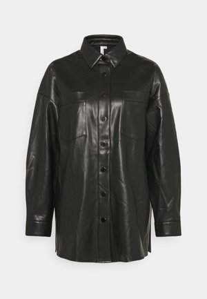 SHACKET - Short coat - black