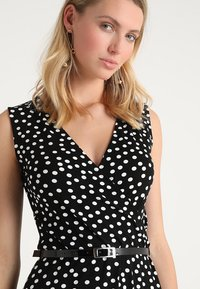 Anna Field - Day dress - black/off-white - 4