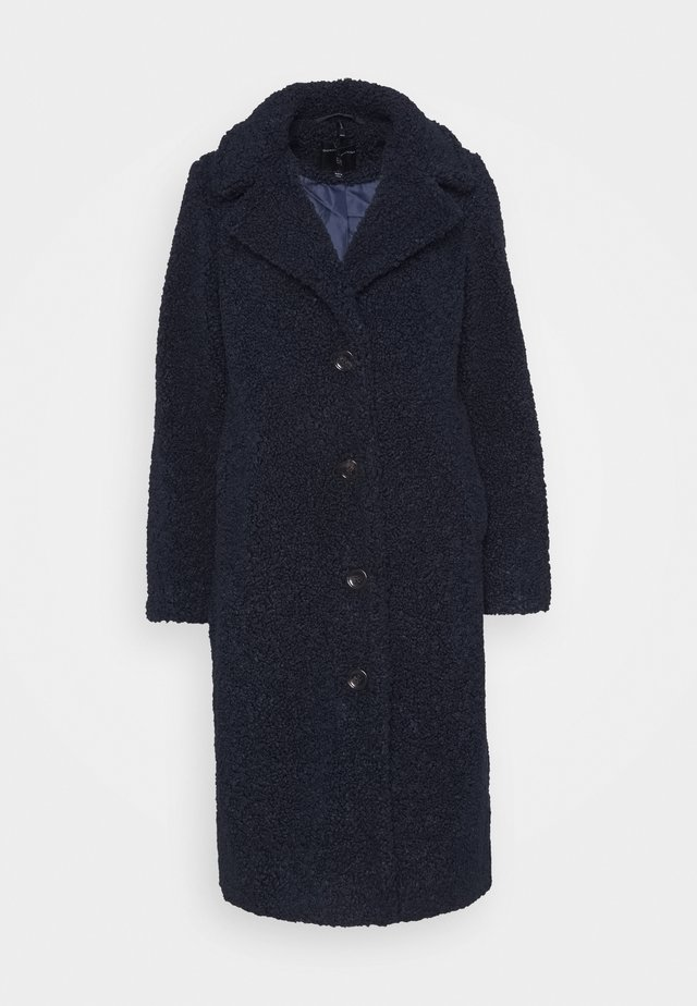 SUPER LONG COAT - Mantel - navy