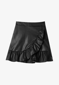 Stradivarius - Mini skirt - black - 4