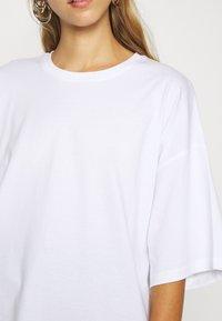 Even&Odd - Jednoduché triko - white - 5