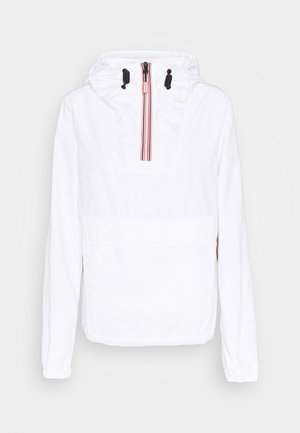 WOMENS ORIGINAL SHELL WINDBREAKER - Windbreaker - white