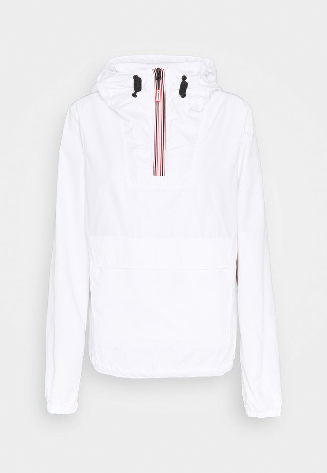 WOMENS ORIGINAL SHELL WINDBREAKER - Větrovka - white