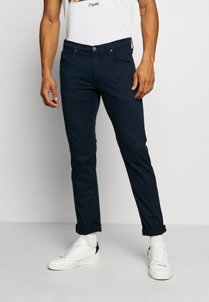 DAREN ZIP FLY - Broek - dark navy
