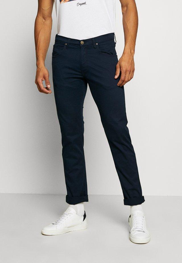 DAREN ZIP FLY - Trousers - dark navy