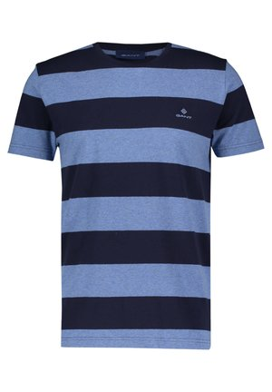 BARSTRIPE - T-shirt con stampa - darkblue (83)