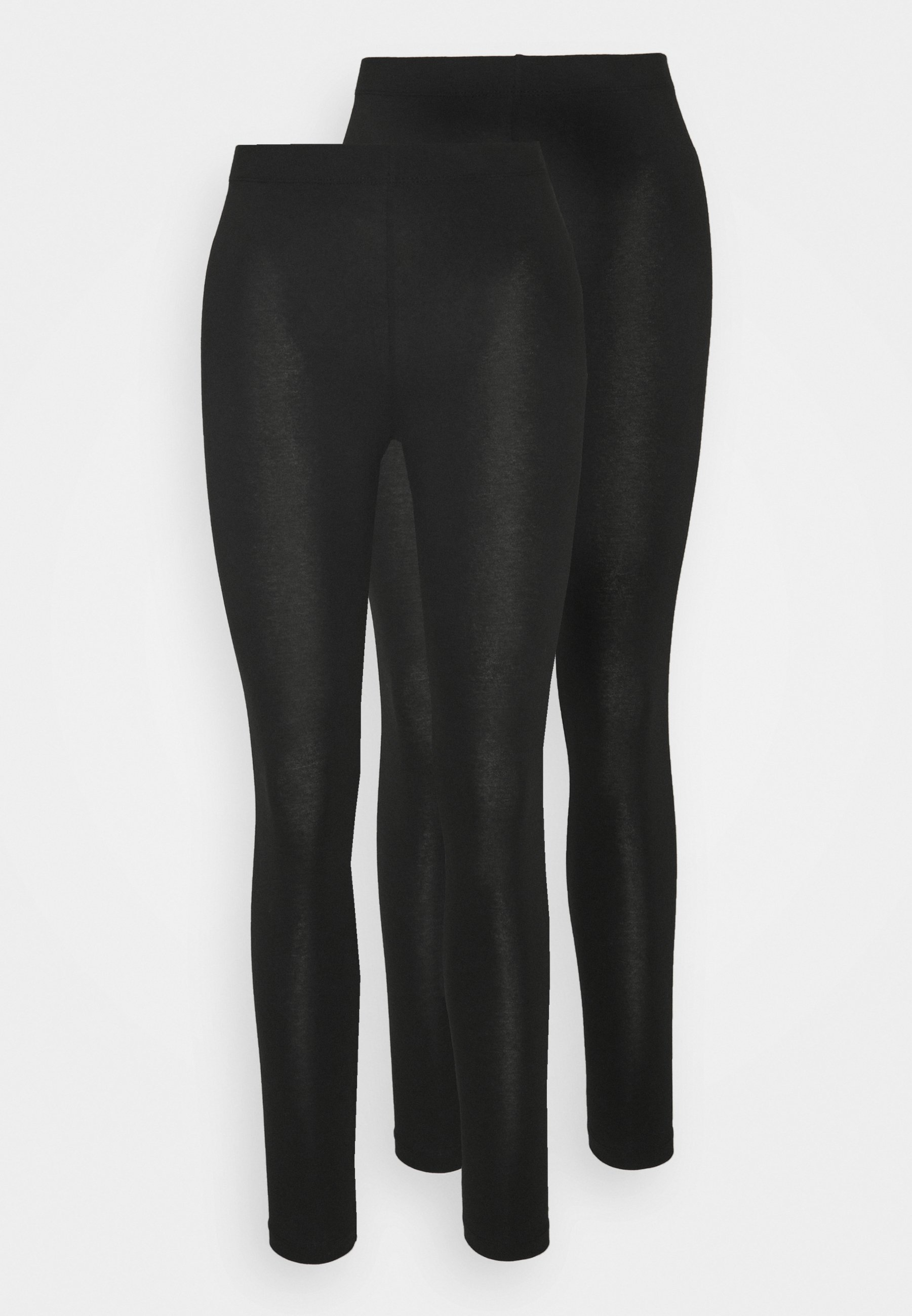 2 PACK Leggings black