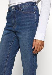 Vila - VISOMMER - Straight leg jeans - medium blue denim - 4