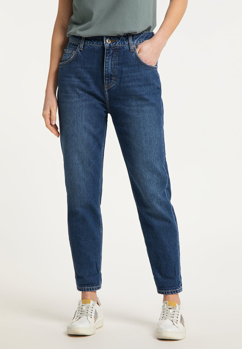 Mustang - MOMS - Jeans Tapered Fit - blau