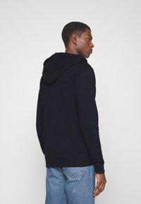Les Deux - FRENCH ZIPPER HOODIE - Zip-up hoodie - navy - 2