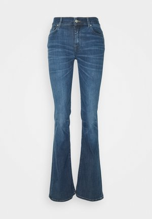 KIND TO THE PLANET BETTER DAYS - Bootcut jeans - mid blue