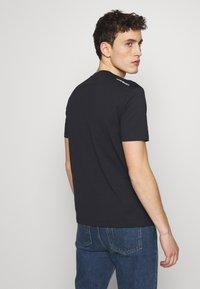 Emporio Armani - T-Shirt basic - biancoblu nero - 2