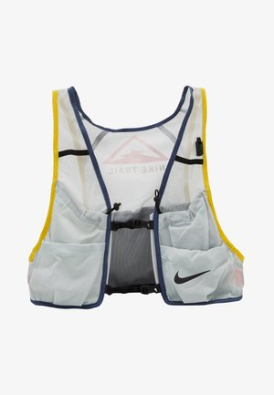 MENS RUNNING TRAIL VEST - Trinkrucksack - aura/diffused blue/speed yellow/black