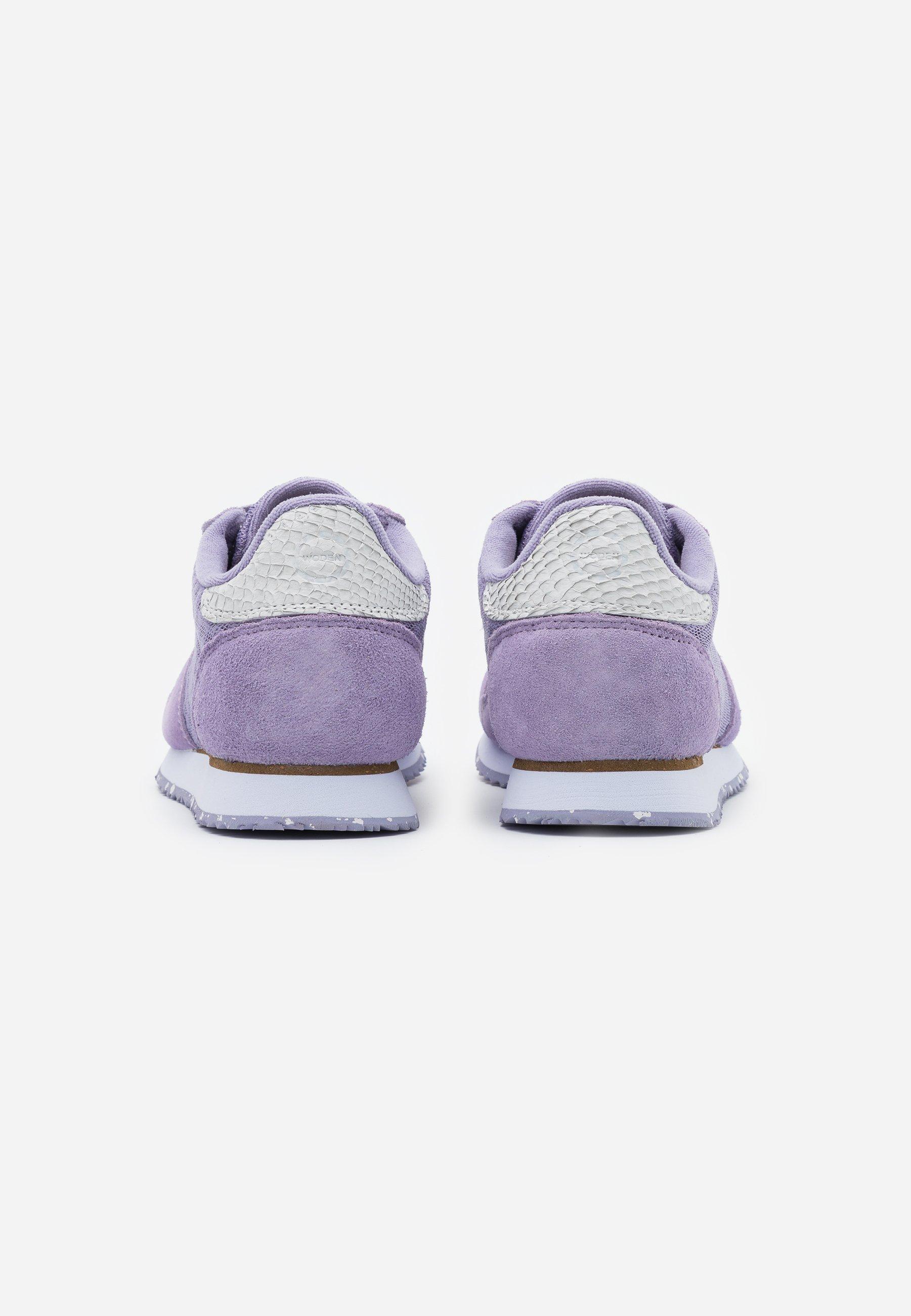 Woden YDUN SUEDE MESH II - Trainers - lavender Women's Skate Shoes KGo9w