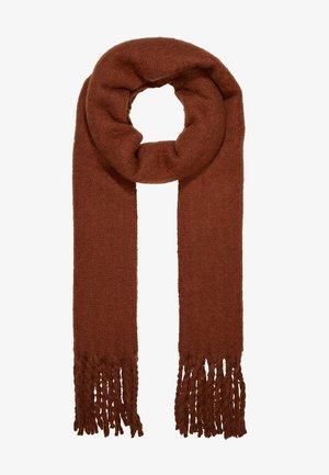 MIND SCARF - Šála - brown reddish