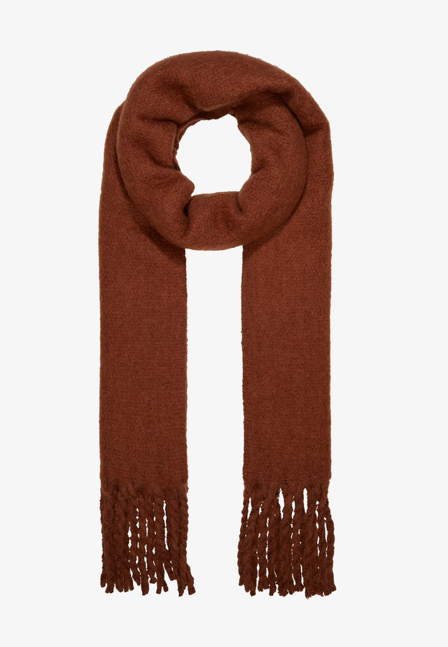 MIND SCARF - Huivi - brown reddish