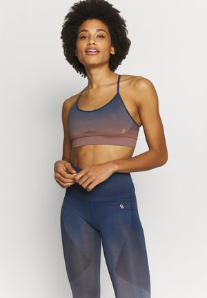 DIP DYE SEAMLESS BRA - Sports bra - sunset