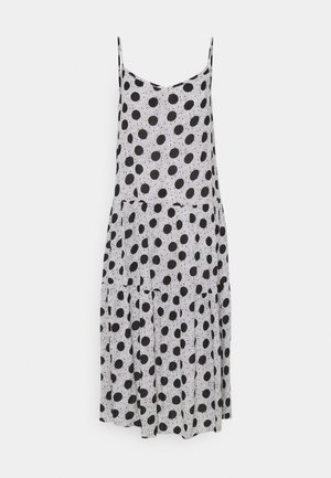 V NECK SLIP - Day dress - grey