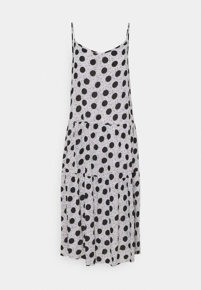 V NECK SLIP - Vestido informal - grey