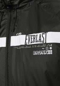 Everlast - POP OVER RICKERS - Sportovní bunda - black - 7