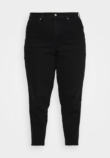 HIGH WAISTED MOM - Relaxed fit jeans - flash black