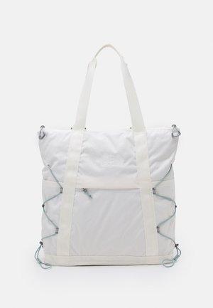 BOREALIS TOTE UNISEX - Bolso shopping - gardenia white