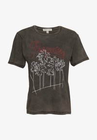Billabong - POSTER CHILD TEE - T-shirts med print - off black - 0